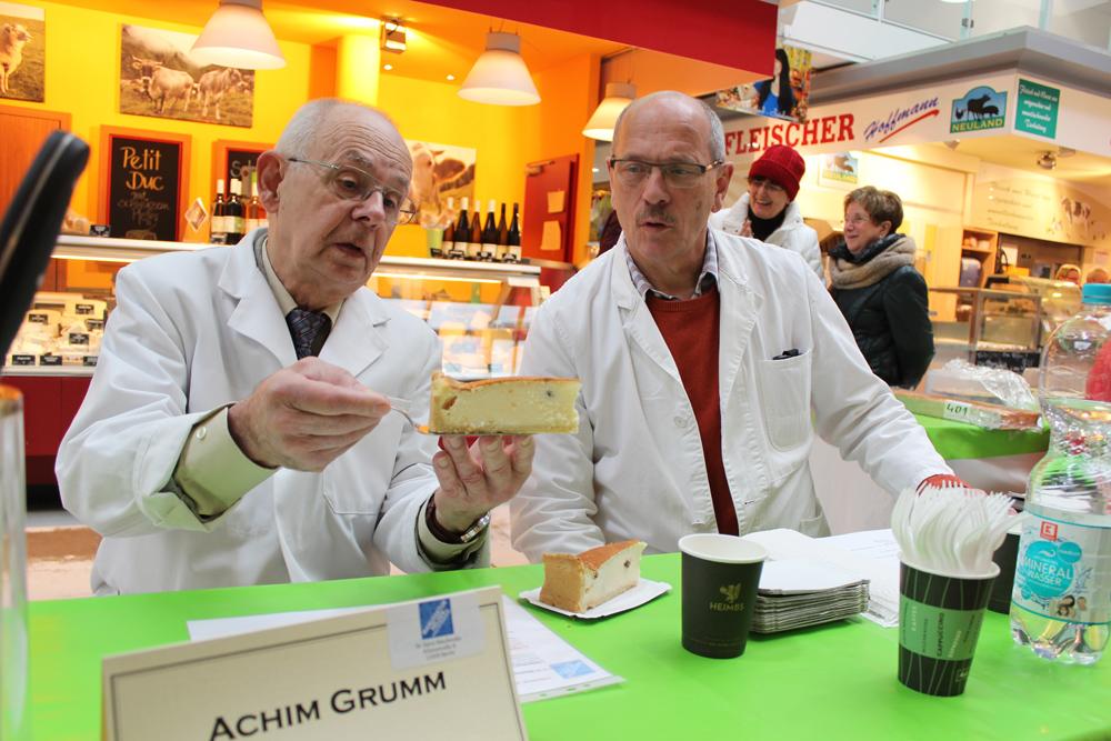 Käsekuchen-Expertenteam Grumm Stupp