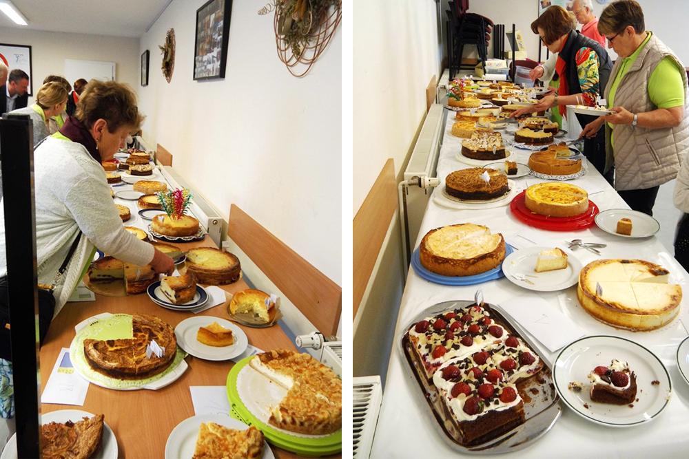 Kaeskuchenwettbewerb Potsdam Landfrauen